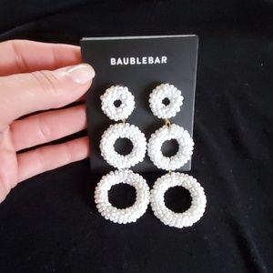 Bauble Bar dangling stud earrings.